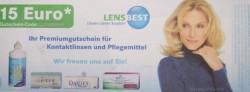 15 Euro Gutschein von Lens Best