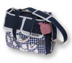 17388 Basil Dutch Blue Shoulder bag