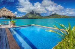 St.Regis Bora Bora Pool