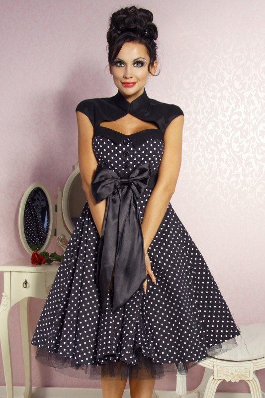 rockabilly kleid entdeckt den style der 50er my. Black Bedroom Furniture Sets. Home Design Ideas