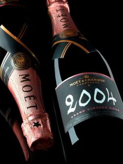 Moët & Chandon Grand Vintage Rosé 2004 Champagner