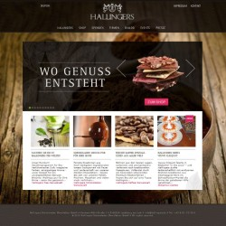 Hallingers-Screenshot_Webseite