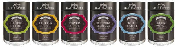 Hallingers-Tee_Sortiment