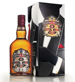 Chivas Regal 12y Limited Edition Made for Gentlemen