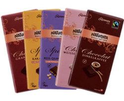 Nachschub für Naschkatzen - Naturata präsentiert fünf Schokoladenneuheiten