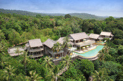 6BR Private Cliff Pool Reserve (Villa63) Exterior by Helicam