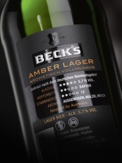 Becks_Amber Lager Rückseitenetikett