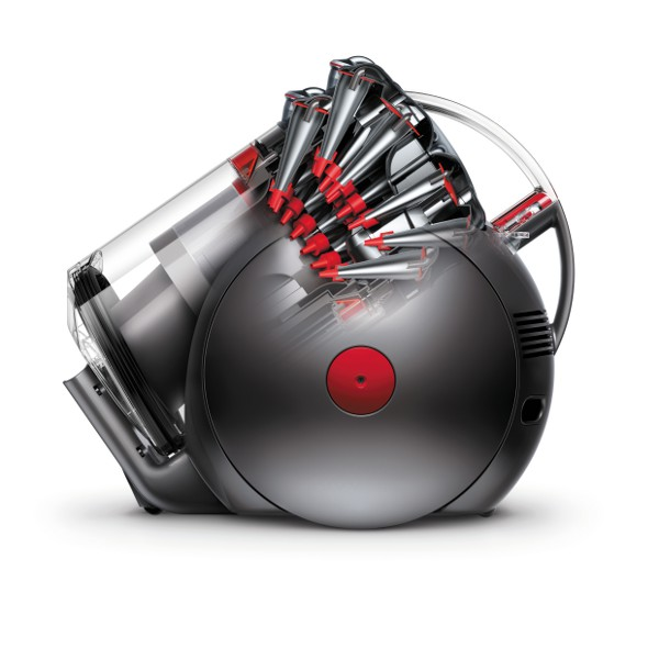 dyson big ball dyson stellt den staubsauger auf den kopf. Black Bedroom Furniture Sets. Home Design Ideas