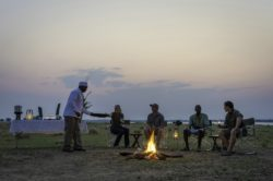 Mana Pools_Ruckomechi_FireplaceDana Allen